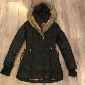 Long Puffy Black Jacket